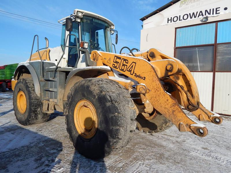 3768] Wheel loader LIEBHERR L564 2 plus 2 | Post-lease equipment